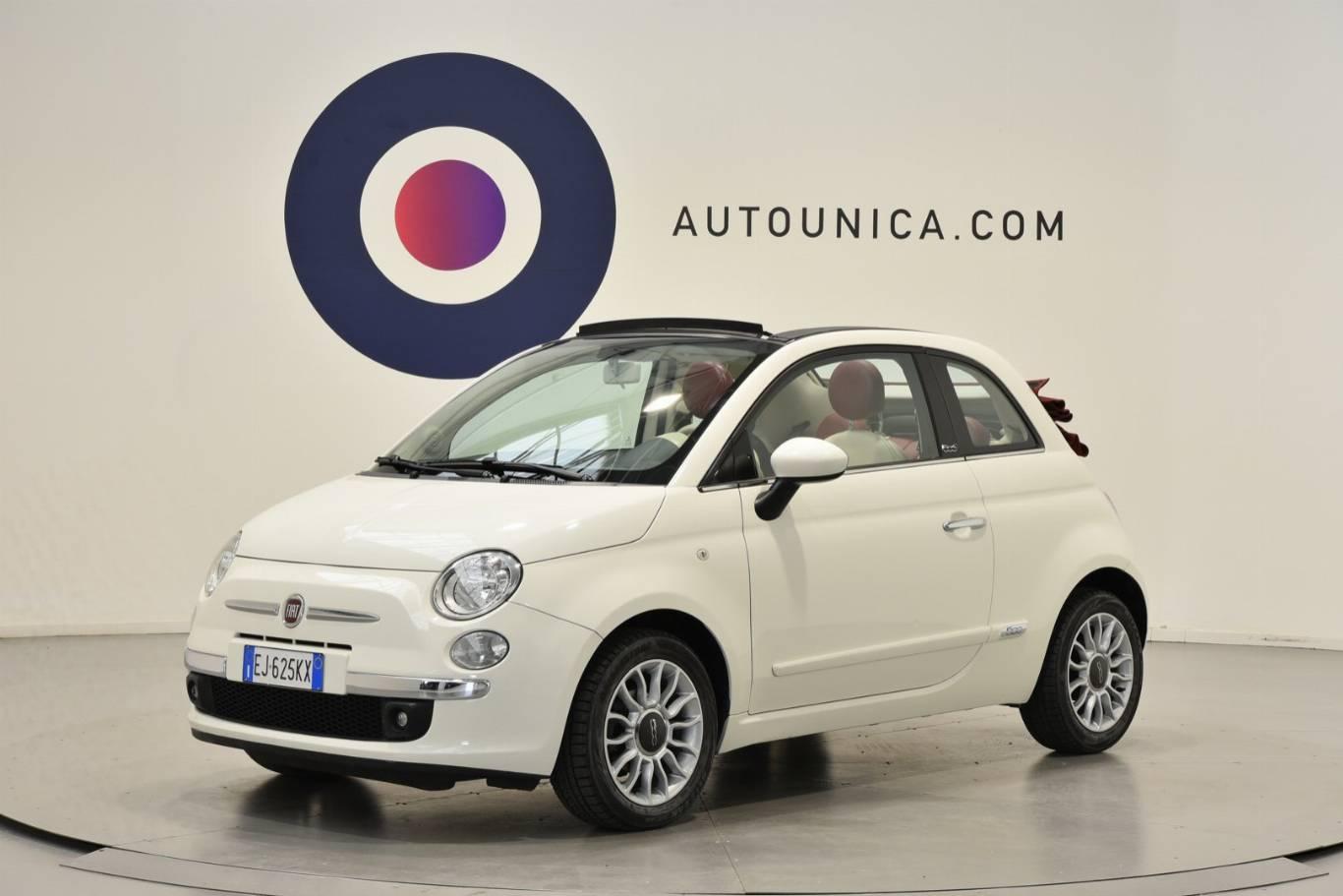 FIAT - 500C 1.2 LOUNGE CABRIO AUTOMATICA IDEALE NEOPATENTATI