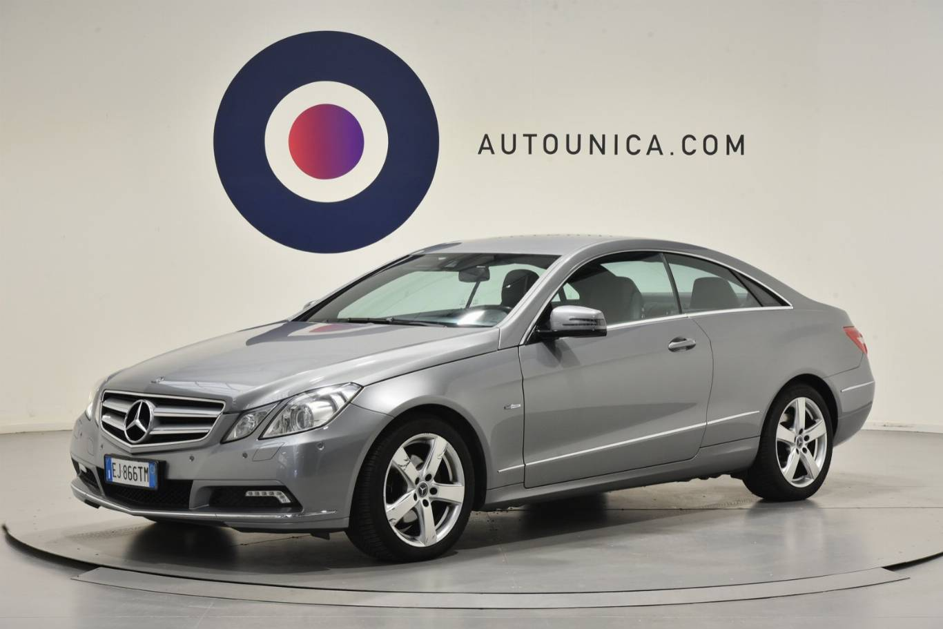 MERCEDES-BENZ - E 220 CDI COUPE' BLUEEFFICIENCY